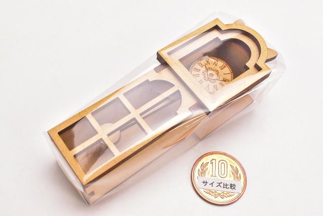 猫のミニチュア 振り子時計 1/12スケール 完成品 ドールハウス [m-s]【 ネコポス不可 】【C】