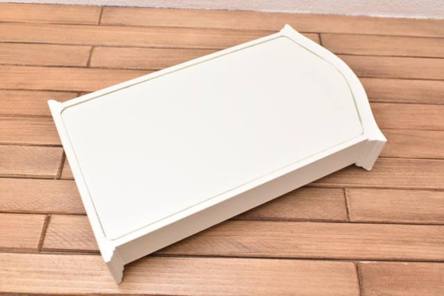 ミニチュア家具 アーチトップシェルフ ホワイトアイボリー [ID011-I] [m-s]【 ネコポス不可 】【C】