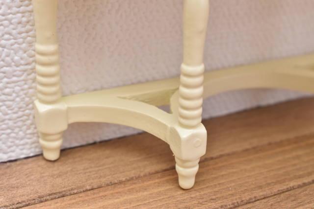 ミニチュア家具 サイドボード クリームアイボリー [ID012-I] [m-s]【 ネコポス不可 】【C】