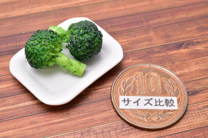 ミニチュアフード 野菜シリーズ ブロッコリー 2個セット [SMLVEG24] [品番:35764] [m-s][imp]【ネコポス配送対応】【C】