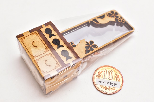 猫のミニチュア 鏡台 1/12スケール 完成品 ドールハウス [m-s]【 ネコポス不可 】【C】