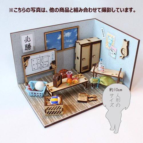 猫のミニチュア ロッカー 1/12スケール 完成品 ドールハウス [m-s]【 ネコポス不可 】【C】
