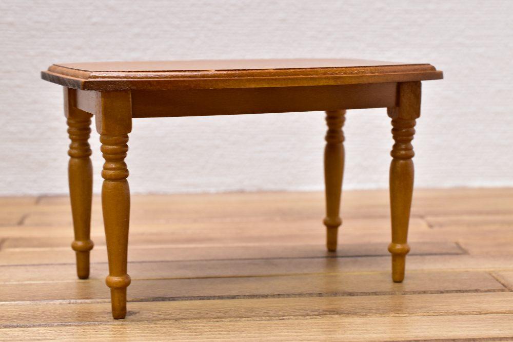 【Reutter】ロイターポーセリン ミニチュア家具 テーブル ビーダーマイヤー [RP1850-9] [m-s]【 ネコポス不可 】