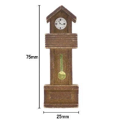 ミニチュア雑貨 ボンボン時計 [B(O-33)] [m-s]【ネコポス配送対応】【C】
