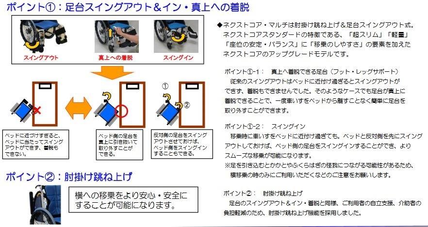ネクストコア・マルチ 自走式 NEXT-31B F-2 ブルー<松永製作所>
