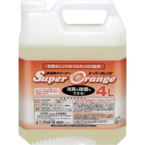 スーパーオレンジ 消臭除菌泡タイプ  4L 業務用<UYEKI >