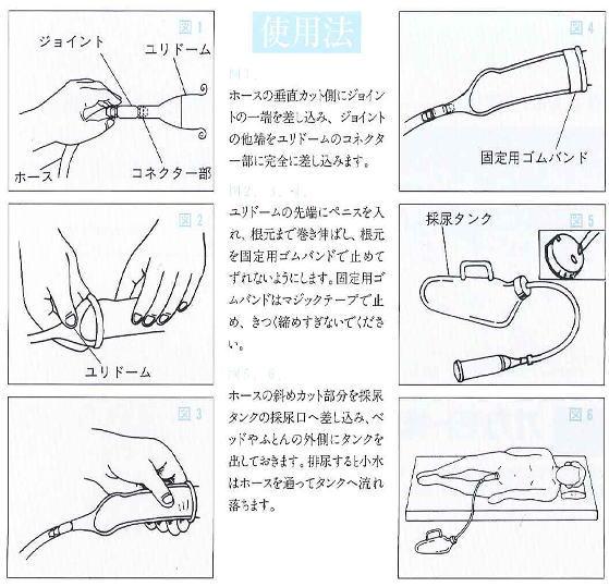 男性用採尿器ユリドームセット <オカモト>