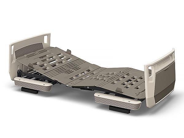 【組立配送料金注文後案内】楽匠プラス 3モーション H脚タイプ  多機能ボード 91cm幅 KQ-A6333 (オプション受:グレージュ ボード:グレージュ)