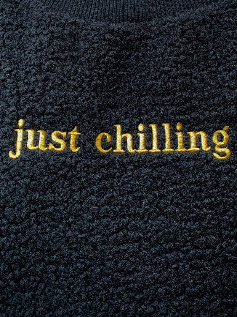 just chilling ボア TOPS