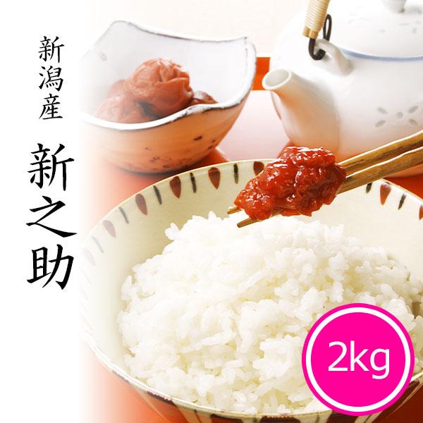 新之助2kg 白米 令和2年産