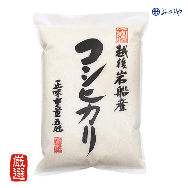 岩船産コシヒカリ5kg 白米 令和2年産