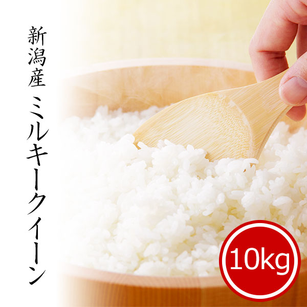 新潟産ミルキークイーン10kg 白米 令和2年産