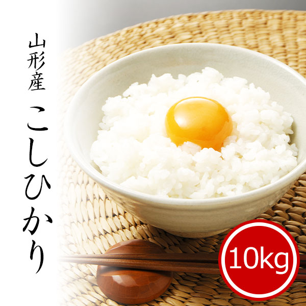 山形県産コシヒカリ10kg 白米 令和2年産