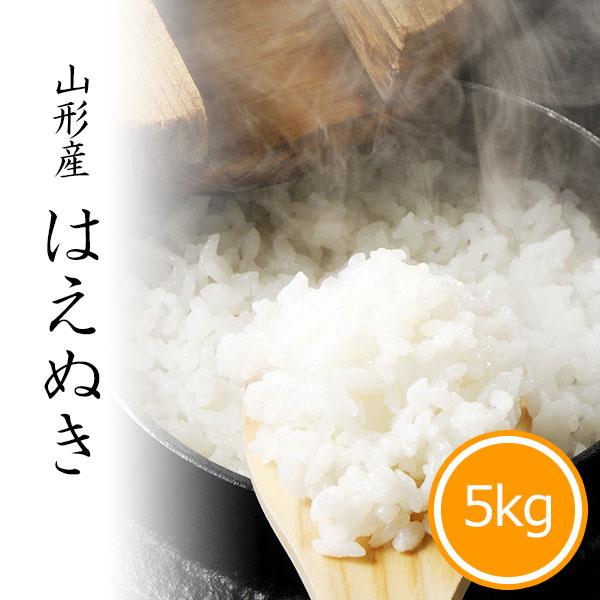 山形県産はえぬき5kg 白米 令和2年産