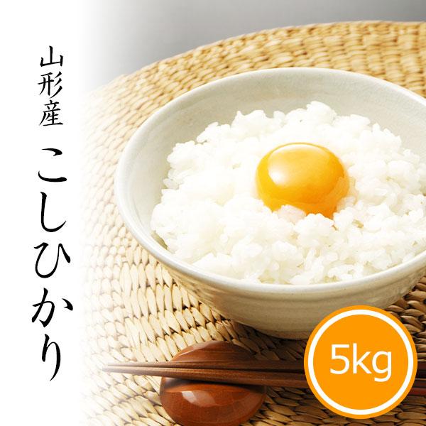 山形県産コシヒカリ5kg 白米 令和2年産