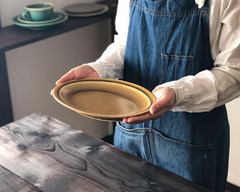 Ovalplatter オーバルプラター  キャラメル