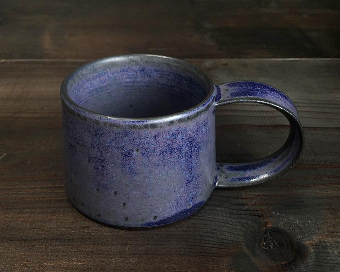 恩田陽子 マグカップ 紫