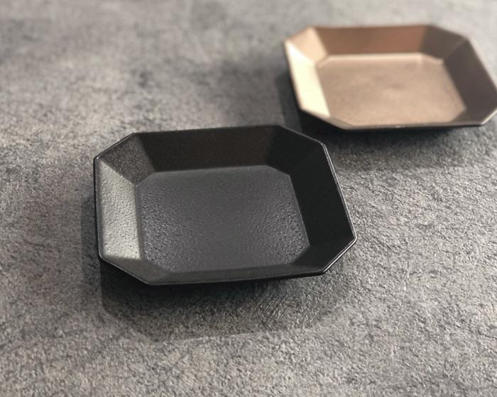 Petit 八角皿 ブラック