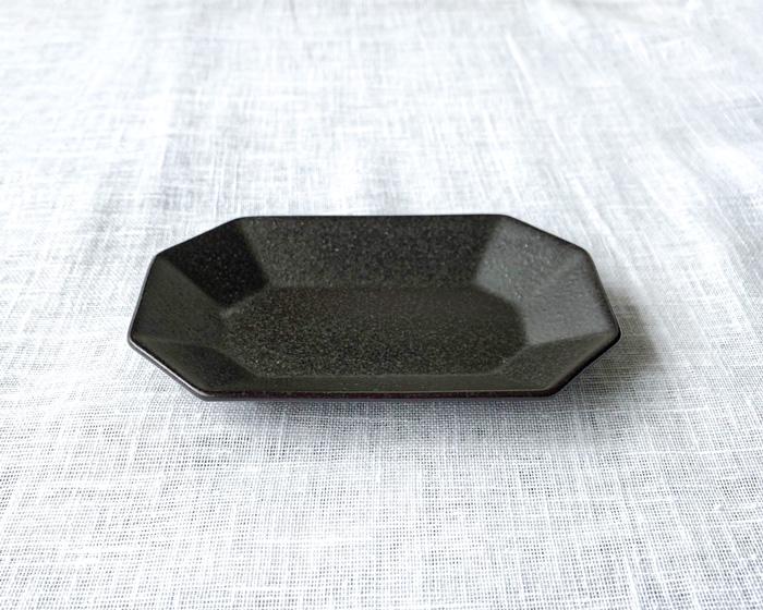 Petit 長角皿 ブラック
