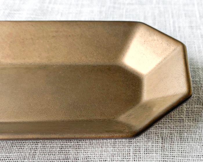 Petit 長角皿 ゴールド