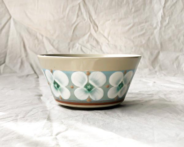 ふくべ窯 サラダカップ 花水木 トルコ