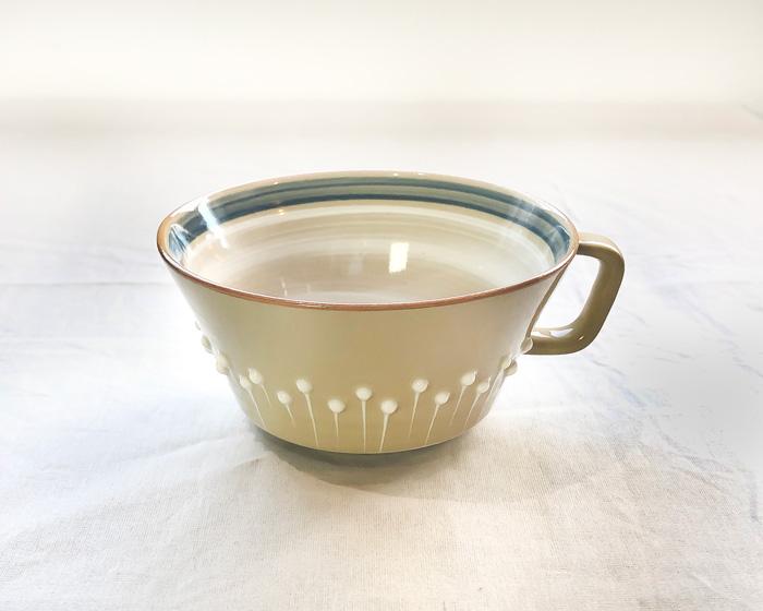 アダチノポタリ スープカップ ブルー