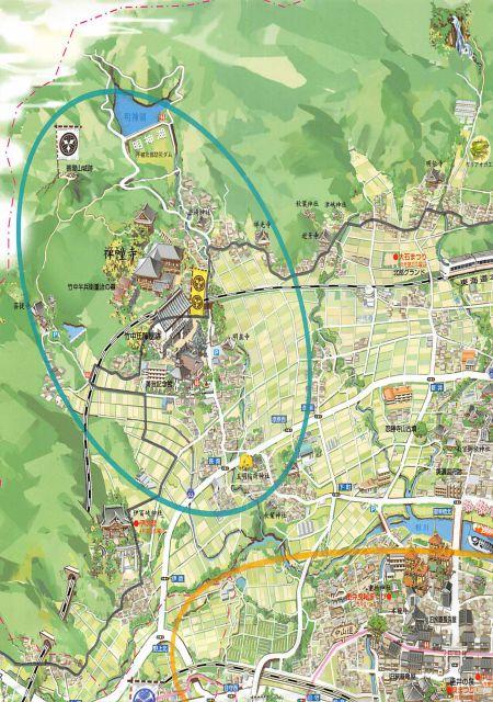 岐阜県垂井町セット/関ヶ原の一大拠点「南宮山」と「軍師・竹中半兵衛重治」の地