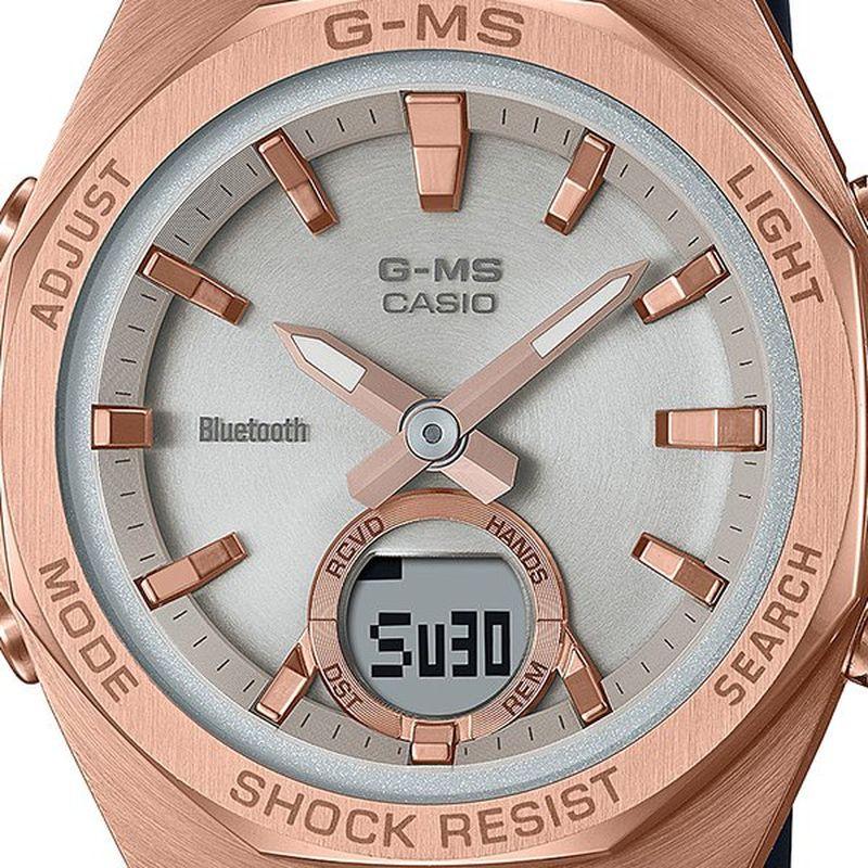 【Bluetooth搭載】 CASIO BABY-G(ベイビージー) G-MS MSG-B100 Series ブラック 【MSG-B100G-1AJF】