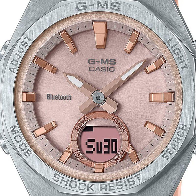 【Bluetooth搭載】 CASIO BABY-G(ベイビージー) G-MS MSG-B100 Series ピンク 【MSG-B100-4AJF】
