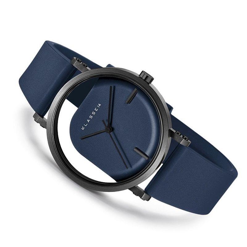 KLASSE14(クラスフォーティーン) 【メッシュストラップ付き】 IMPERFECT ANGLE  (インパーフェクト アングル)  Blue Black 40mm 【WIM20BK014M 】