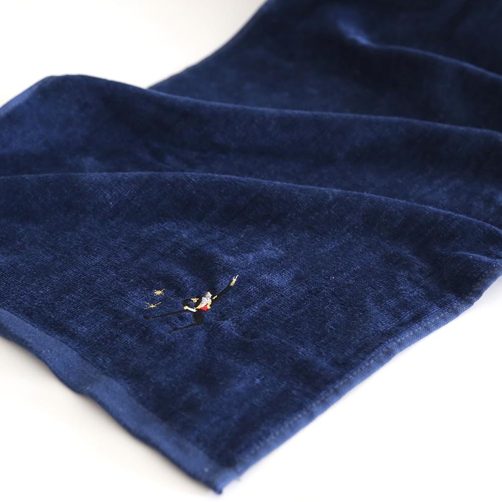 フェイスタオル/ドン・キホーテ(バジル)刺繍