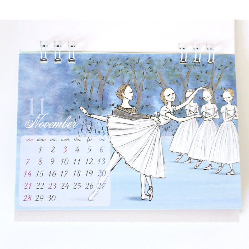 2021年 卓上カレンダー