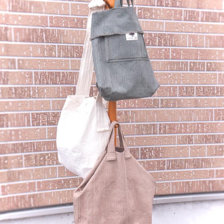 帆布ざっくりトートバッグ タータンチェック柄 3色 MISAKO(お買い物バッグ エコバッグ 学生 帆布 キャンバス マザーズバッグ)