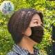 【ネコポス】サイズも柄も組み合わせ自由!マスク ダブルガーゼ プリーツ加工3枚セット 無地5柄 3サイズ 洗える S M L 子ども 大人 おしゃれ