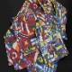 ★アスコットタイ スクエアポケットチーフ セット国旗柄【To the World】 MISAKO【送料無料】【日本製】(結婚式 パーティ 二次会 ハロウィン 着こなし 成人式 スーツ アスコットスカーフ おしゃれ)