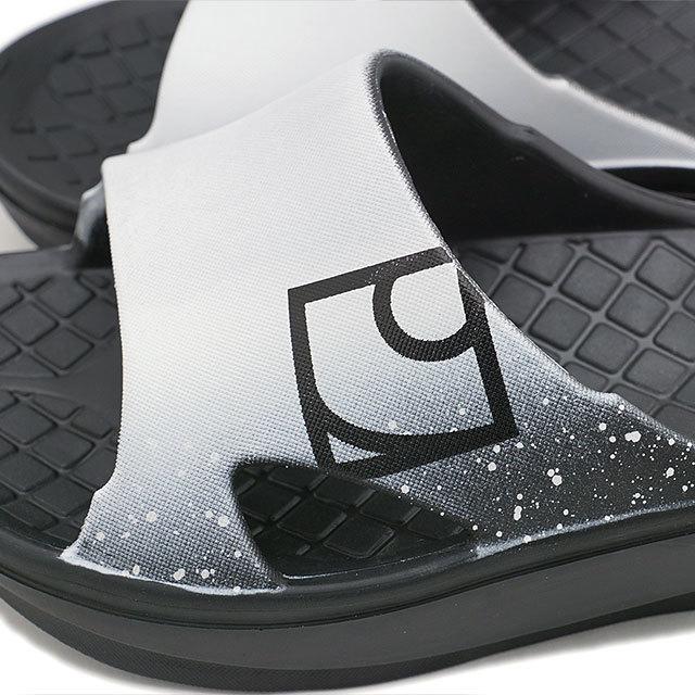 【送料無料】リグ rig リカバリーサンダル スライド Slide [RG0004 ] メンズ・レディース 疲労回復 ロッカーサンダル WHITE ホワイト系