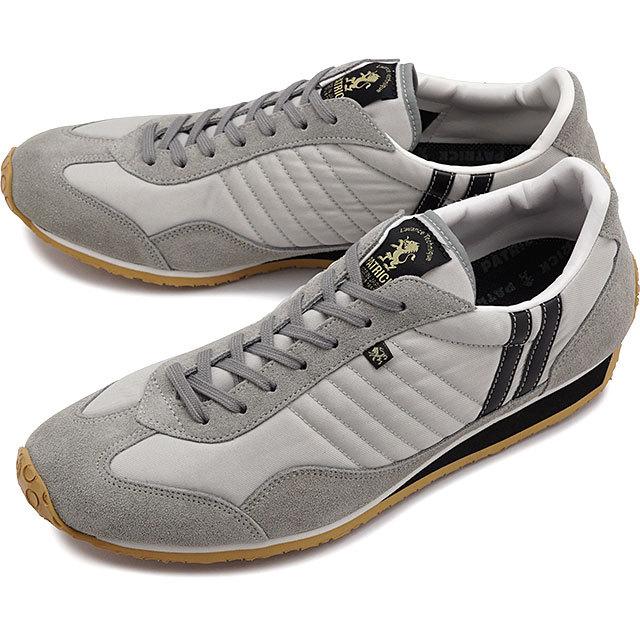 【返品送料無料】【限定復刻モデル】パトリック PATRICK スタジアム STADIUM メンズ・レディース スニーカー 日本製 靴 グレー/グレー S.PDNG グレー系 [23303]