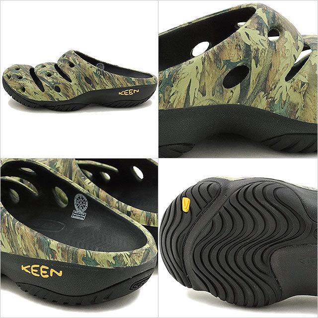 【送料無料】キーン ヨギ アーツ KEEN Yogui Arts MNS Camo Green クロックサンダル 靴 メンズ (1002034)【ar】