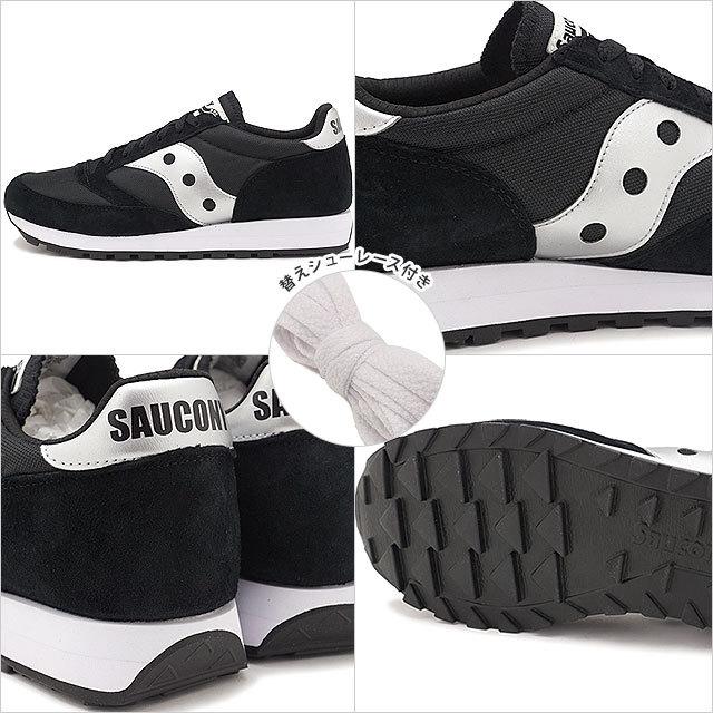 【送料無料】サッカニー Saucony スニーカー ジャズ81 JAZZ 81 [S70539-2 SS21] メンズ・レディース ローカットシューズ BLACK/SILVER ブラック系