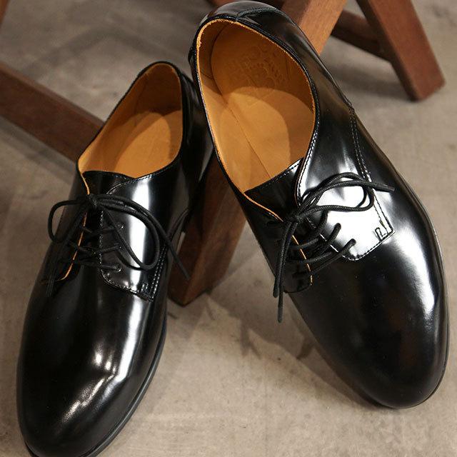 【送料無料】ベアフットビズ BarefootBiz メンズ ビジネスシューズ プレーントゥ [20LM001 SS21] Vibram ビブラム 靴 フラットソール ヴィブラムソール Black 黒 ブラック