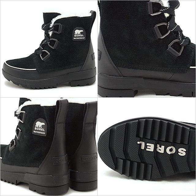 【送料無料】ソレル SOREL レディース ティボリ4 TIVOLI IV メンズ・レディース スノーブーツ ウィンター アウトドア 防寒靴 BLACKブラック系 [NL3425-010 FW19]