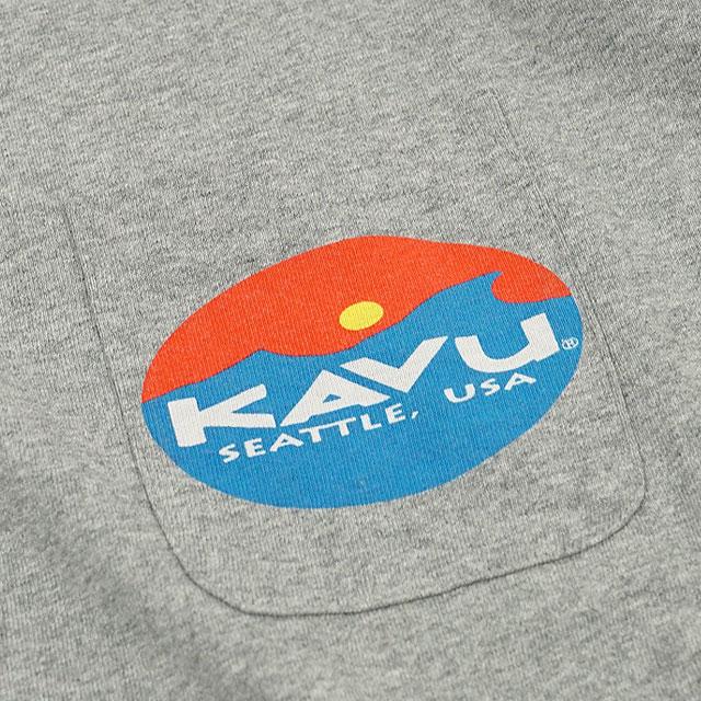 【送料無料】カブー KAVU メンズ Tシャツ サーフロゴティー SURF LOGO TEE 半袖 [19820423 SS20]【メール便配送】