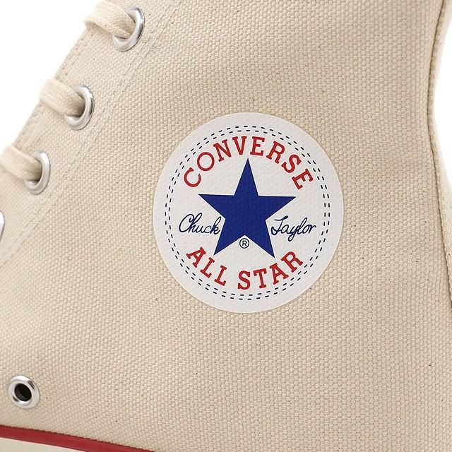 【送料無料】【国産モデル】コンバース キャンバス オールスター J ハイカット CONVERSE CANVAS ALL STAR J HI ナチュラルホワイト (32068430)