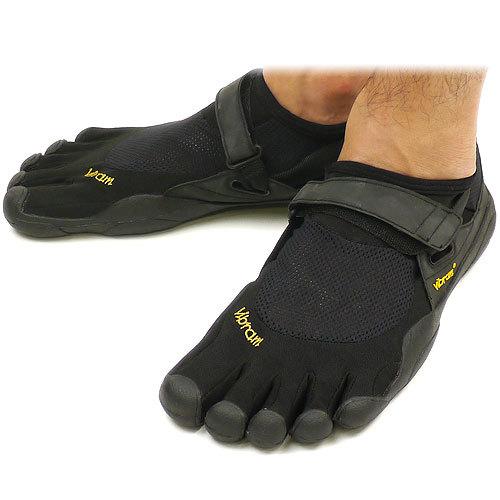 【送料無料】Vibram FiveFingers ビブラムファイブフィンガーズ メンズ KSO Black/Black ビブラム ファイブフィンガーズ 5本指シューズ ベアフット靴 [M148]