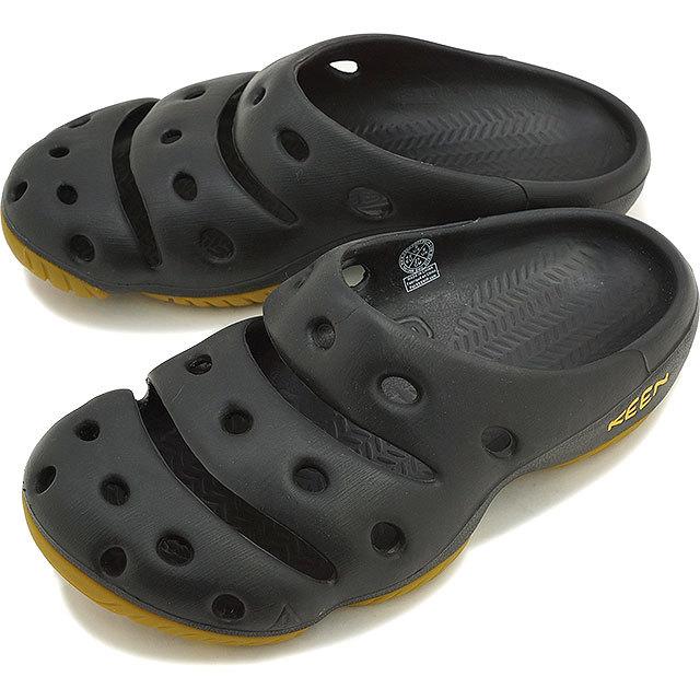 【送料無料】KEEN Yogui MNS キーン サンダル 靴 ヨギ メンズ ブラック[1001966]