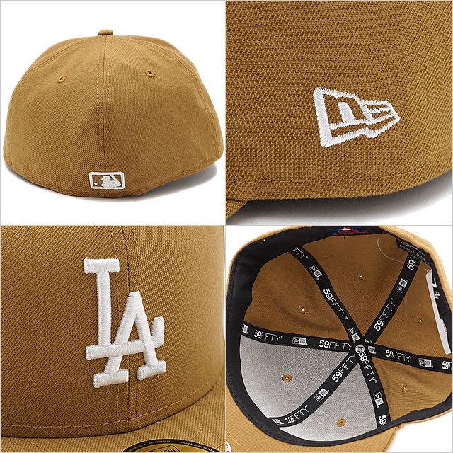【送料無料】NEWERA ニューエラ NEWERA キャップ MLB カスタム 59FIFTY ロサンゼルス・ドジャース ウィート/ホワイト (11308597)(NEW ERA)