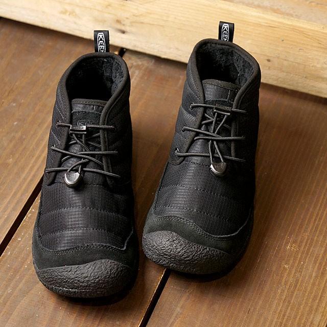 【送料無料】キーン KEEN スニーカー ハウザー ツー チャッカ W HOWSER II CHUKKA [1023818 FW20] レディース チャッカブーツ Black/Black ブラック系