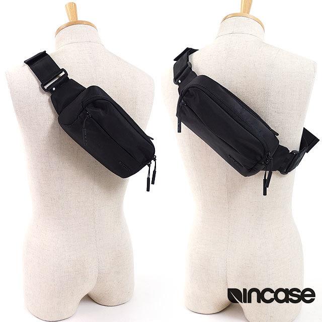 【送料無料】Incase インケース ボディバッグSidebag サイドバッグ ウェストバッグ ヒップバッグ ブラック [37181017 INCO100355-BLK SS18]