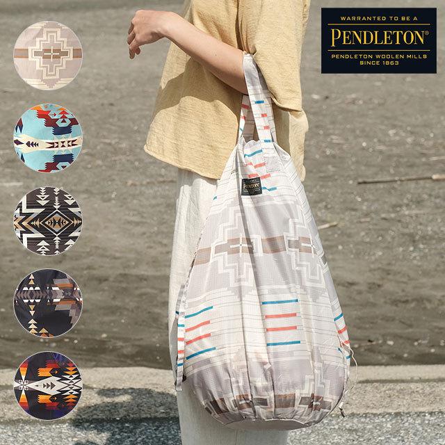 ペンドルトン PENDLETON ドロー ユーティリティーバッグ2 YURIE DROW UTILITY BAG 2 [PDT-000-212022 SS21] メンズ・レディース エコバッグ 撥水 ポリエステル【メール便配送】