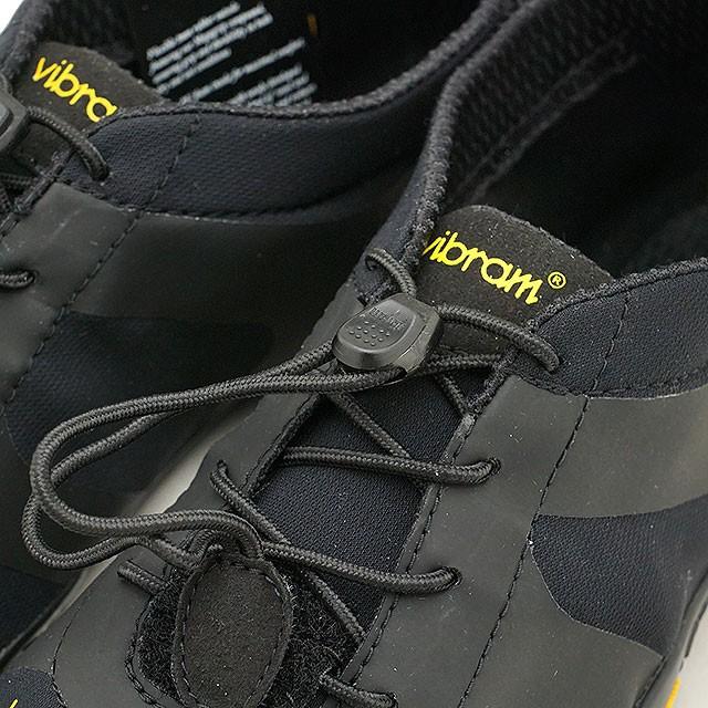 【送料無料】ビブラムファイブフィンガーズ メンズ Vibram FiveFingers オールラウンド アウトドア 5本指シューズ V-ALPHA ベアフット 靴 Black [18M7101]